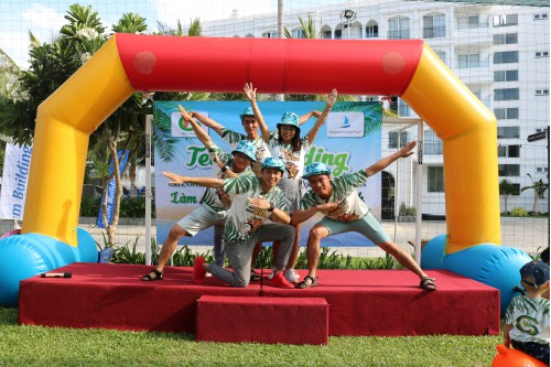 VIDEO - TEAMBUILDING TẬP ĐOÀN GREENWORLD